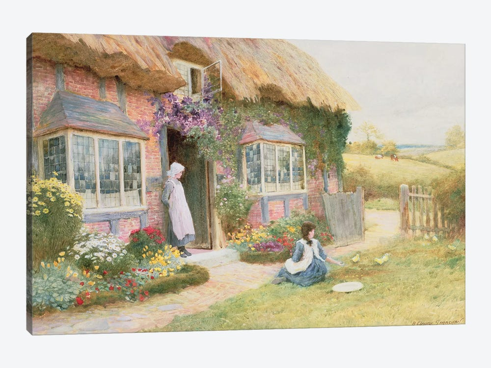 Peaceful Afternoon  by Arthur Claude Strachan 1-piece Canvas Art