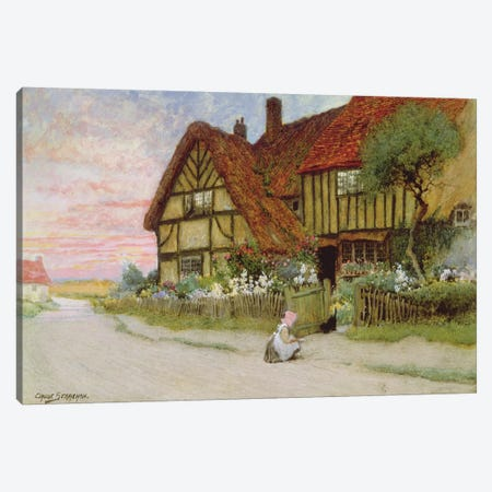 Evening  Canvas Print #BMN3675} by Arthur Claude Strachan Art Print