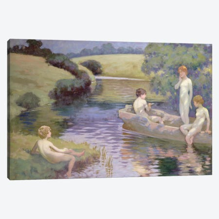 The Age of Innocence  Canvas Print #BMN3686} by Richard George Hinchliffe Canvas Wall Art
