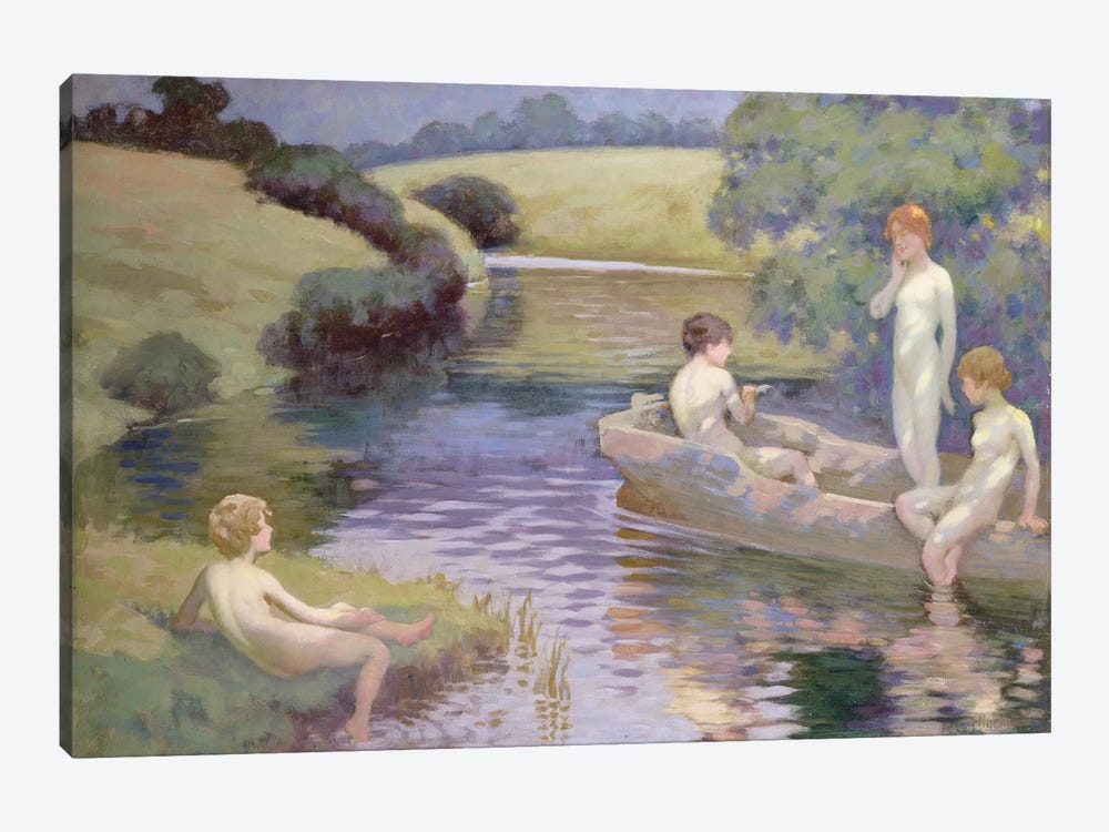 The Age of Innocence  by Richard George Hinchliffe 1-piece Canvas Print