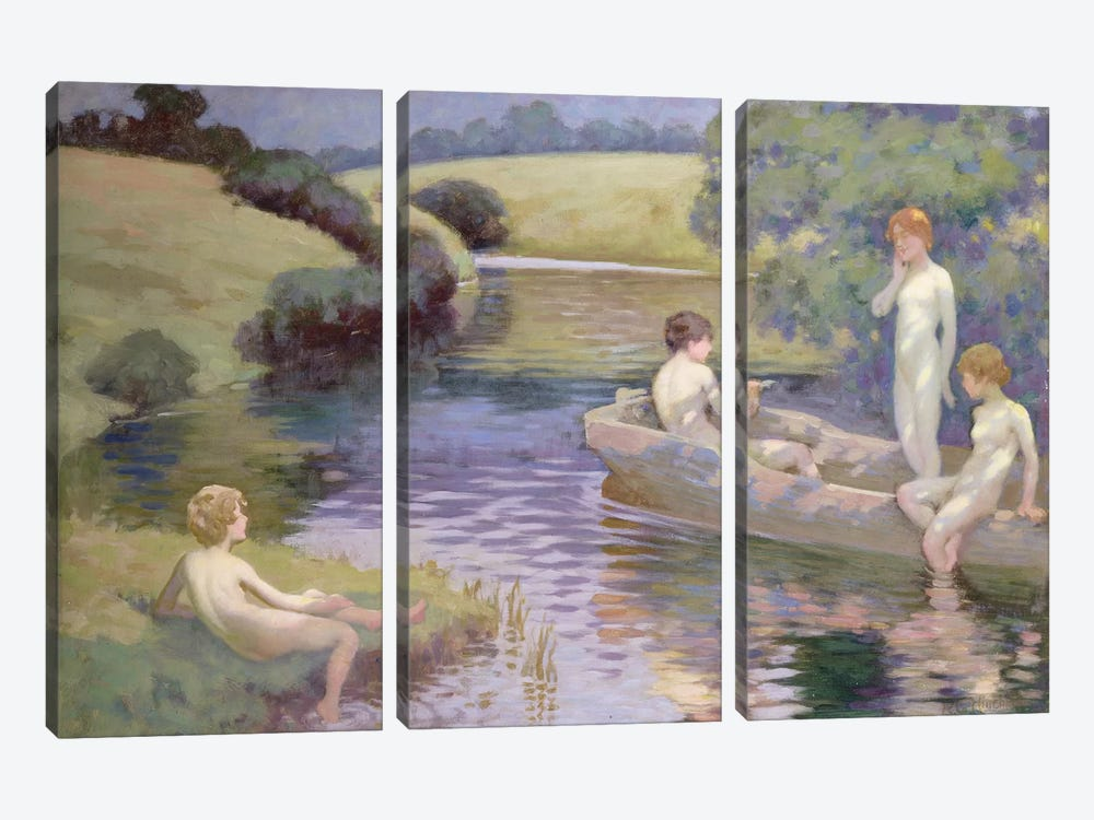 The Age of Innocence  by Richard George Hinchliffe 3-piece Art Print