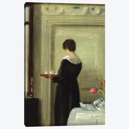 Afternoon Tea  Canvas Print #BMN3688} by Carl Holsoe Canvas Print
