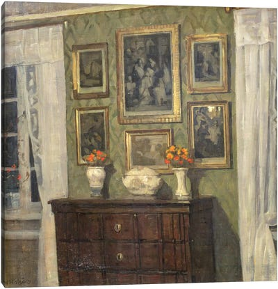 An Interior  Canvas Art Print