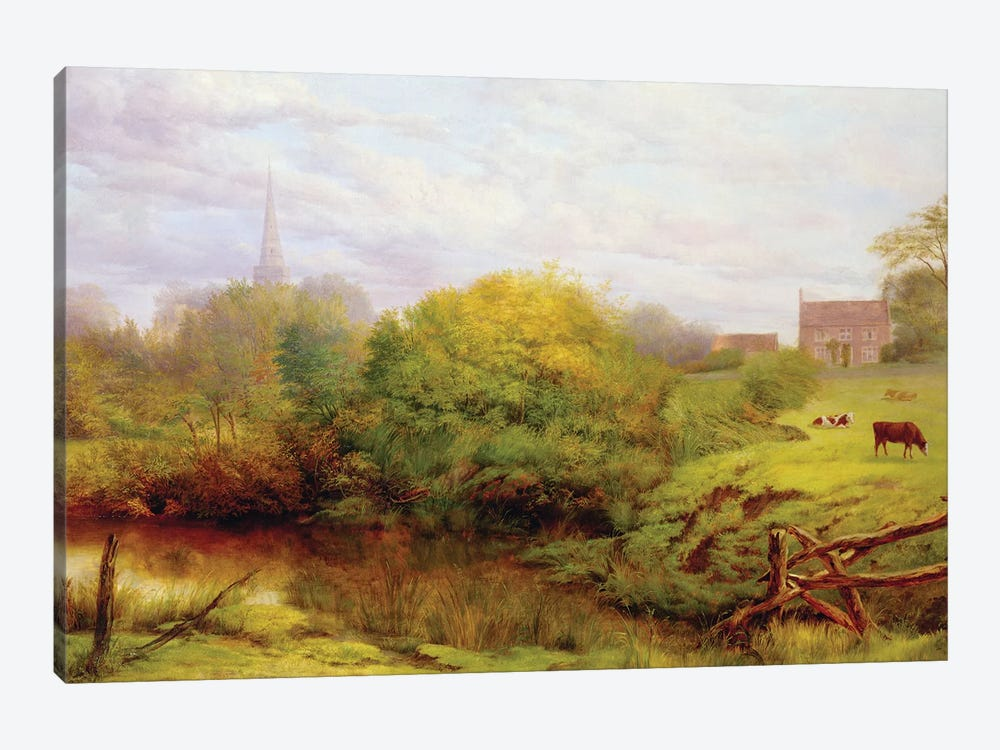 A view of Bredon  by Henry Key 1-piece Canvas Print