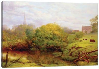 A view of Bredon  Canvas Art Print