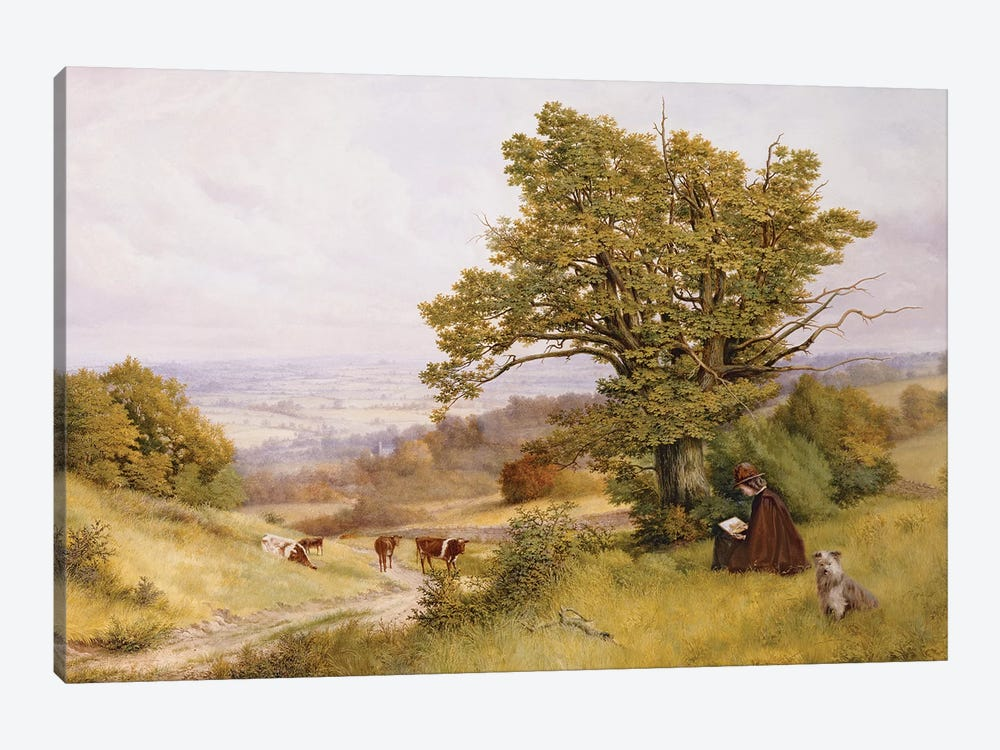 The Young Artist  by Henry Key 1-piece Canvas Wall Art