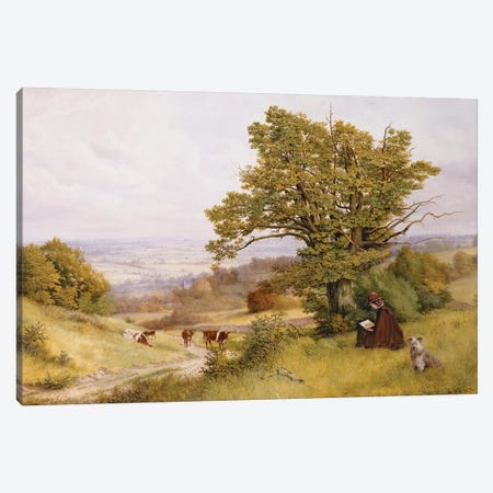 The Young Artist  Canvas Print #BMN3692} by Henry Key Canvas Art