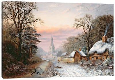 Winter landscape, 1869  Canvas Art Print