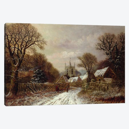 Gretton, Northamptonshire  Canvas Print #BMN3698} by Charles Leaver Canvas Art