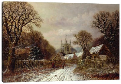 Gretton, Northamptonshire Canvas Art Print