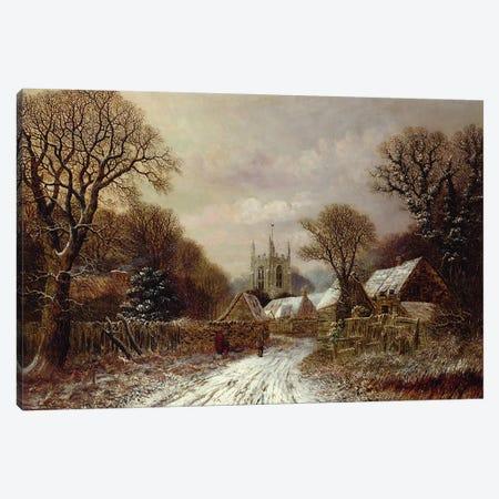 Gretton, Northamptonshire  Canvas Print #BMN3698} by Charles Leaver Canvas Art