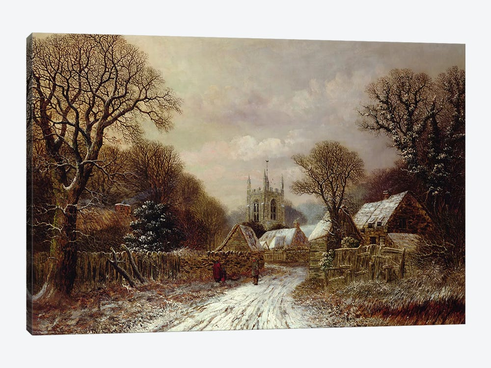 Gretton, Northamptonshire  by Charles Leaver 1-piece Canvas Art