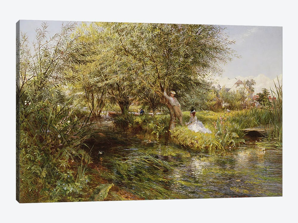 The Trysting Place by Charles James Lewis 1-piece Art Print