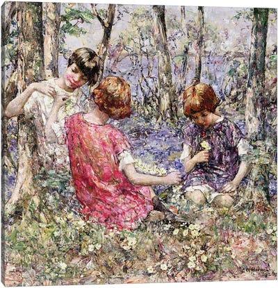 The Primrose Chain  Canvas Art Print