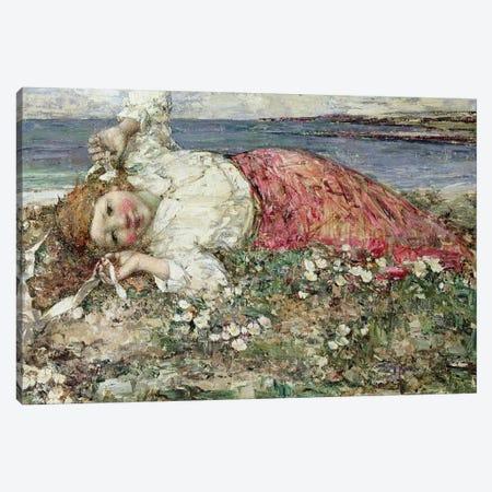 Happy Summer  Canvas Print #BMN3712} by Edward Atkinson Hornel Canvas Print