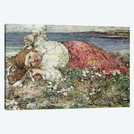 Happy Summer  Canvas Print #BMN3712} by Edward Atkinson Hornel Canvas Print