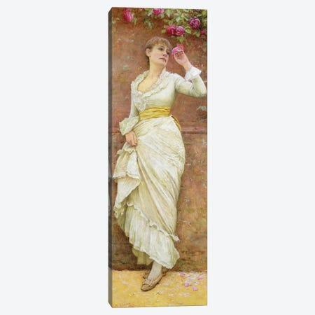 The Rose  Canvas Print #BMN3716} by Edward Killingworth Johnson Canvas Artwork