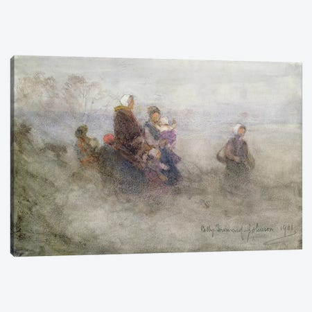 Returning Journey, 1901  Canvas Print #BMN3718} by Patty Townsend Johnson Canvas Art Print