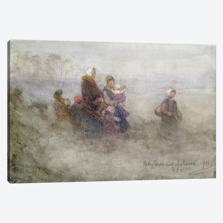 Returning Journey, 1901  Canvas Print #BMN3718} by Patty Townsend Johnson Canvas Art Print