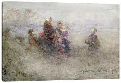 Returning Journey, 1901  Canvas Art Print