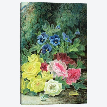 Roses  Canvas Print #BMN3724} by Oliver Clare Canvas Print