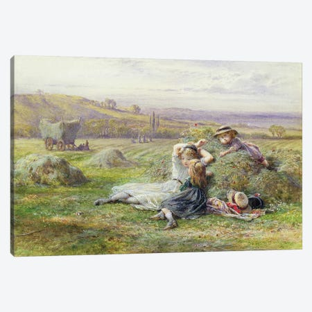 Resting  Canvas Print #BMN3728} by William Stephen Coleman Canvas Artwork