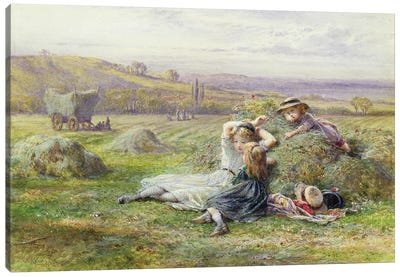 Resting  Canvas Art Print