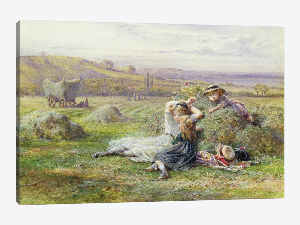 Resting  by William Stephen Coleman 1-piece Canvas Art