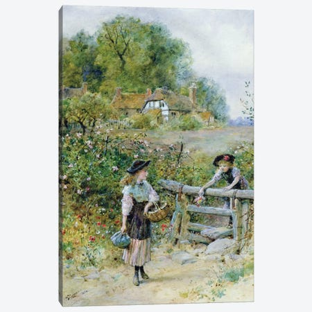 The Stile  Canvas Print #BMN3729} by William Stephen Coleman Canvas Art