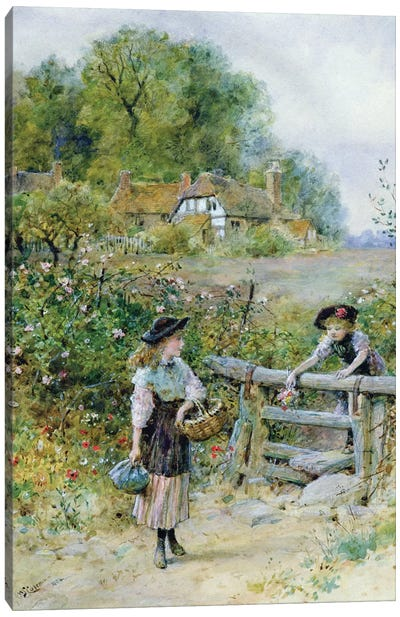 The Stile  Canvas Art Print