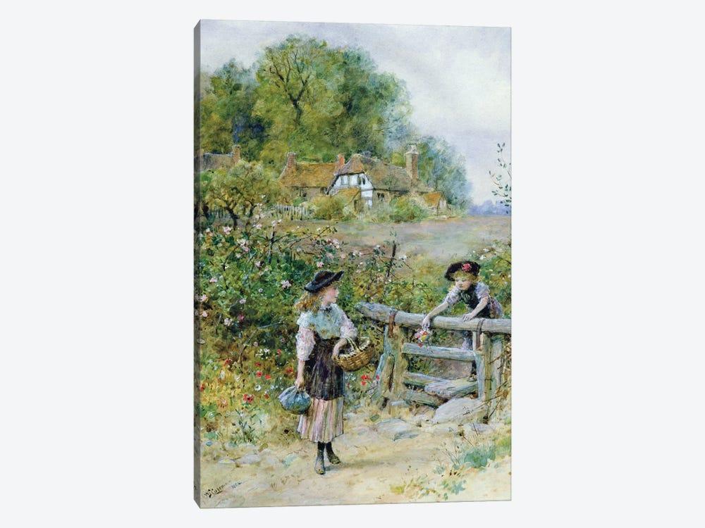 The Stile  by William Stephen Coleman 1-piece Art Print