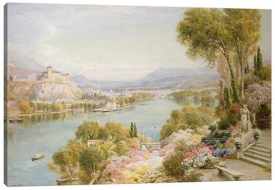 Lake Maggiore  Canvas Print #BMN3735