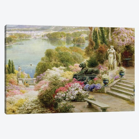Lake Maggiore  Canvas Print #BMN3736} by Ebenezer Wake-Cook Canvas Artwork