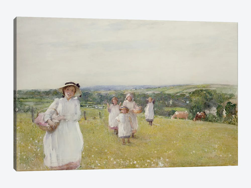 The Picnic  by Henry Crockett 1-piece Canvas Art Print