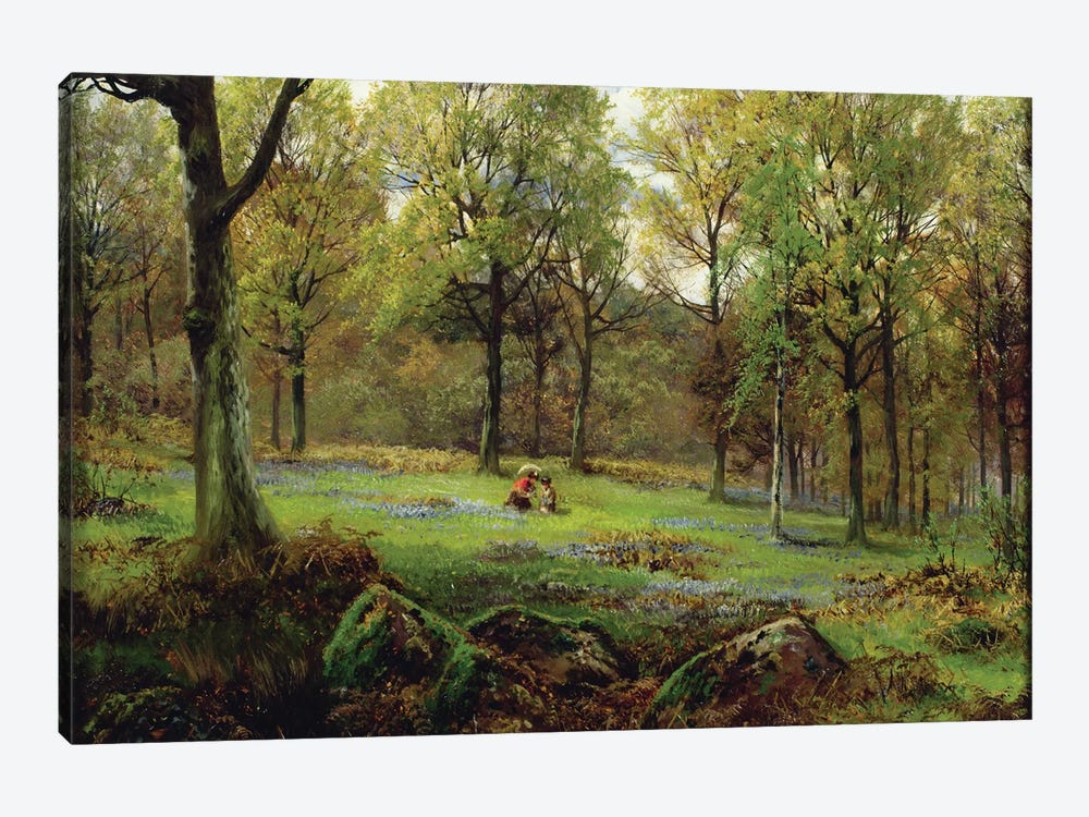In the Woods  by Henry Crossland 1-piece Canvas Wall Art