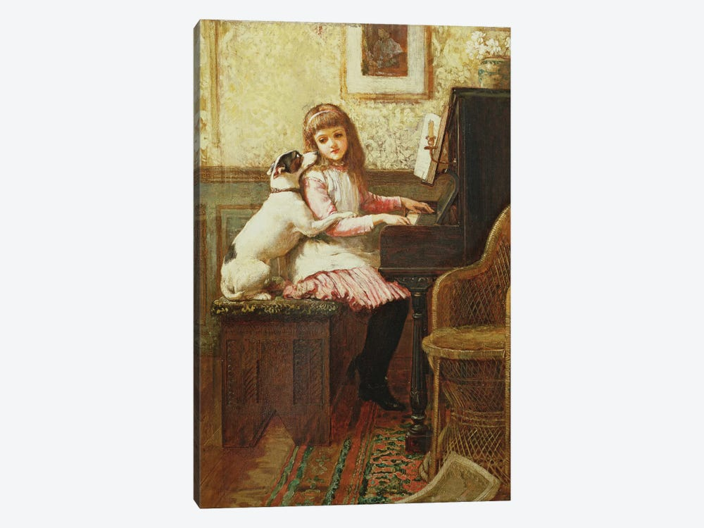 Drink to me only with Thine Eyes  by Charles Trevor Garland 1-piece Canvas Artwork