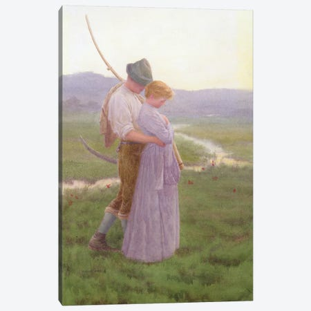 A Tender Moment  Canvas Print #BMN3743} by William Henry Gore Canvas Art