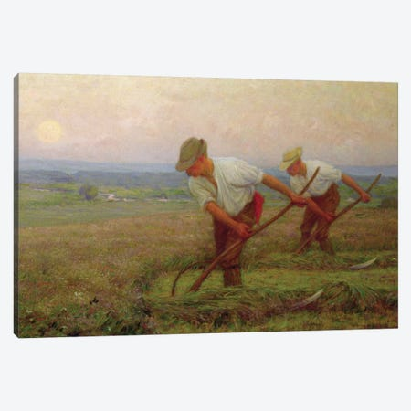 The Reapers  Canvas Print #BMN3744} by William Henry Gore Canvas Print