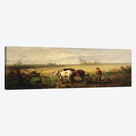 Resting  3-Piece Canvas #BMN3746} by Johannes Hubertus Leonardus de Haas Canvas Art Print