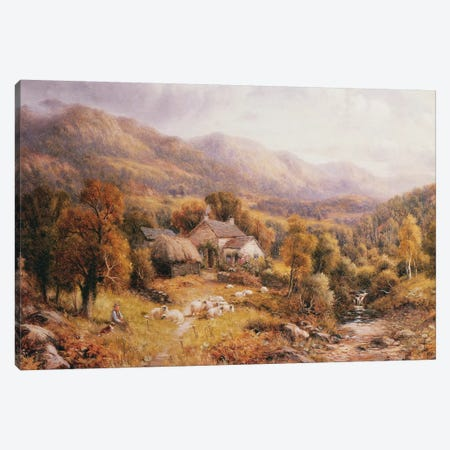 Near Bettws, North Wales  Canvas Print #BMN3747} by Robert John Hammond Canvas Print
