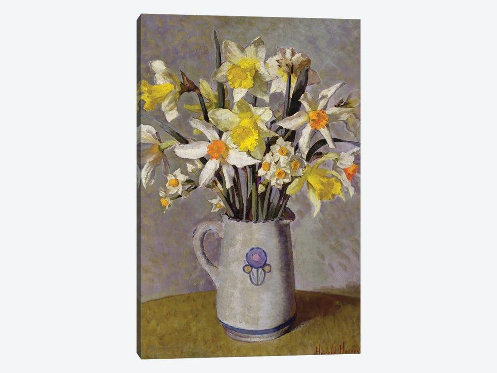 Daffodils  by Harold Harvey 1-piece Canvas Art Print