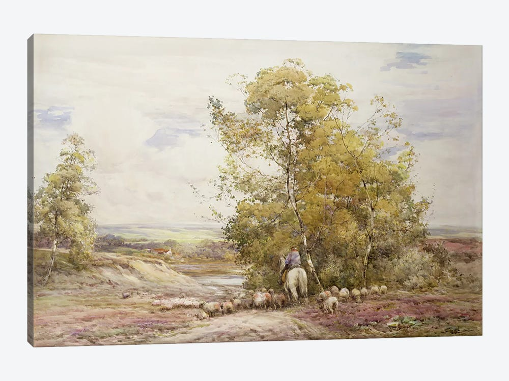 Dorset Pastoral  by Claude Hayes 1-piece Canvas Wall Art