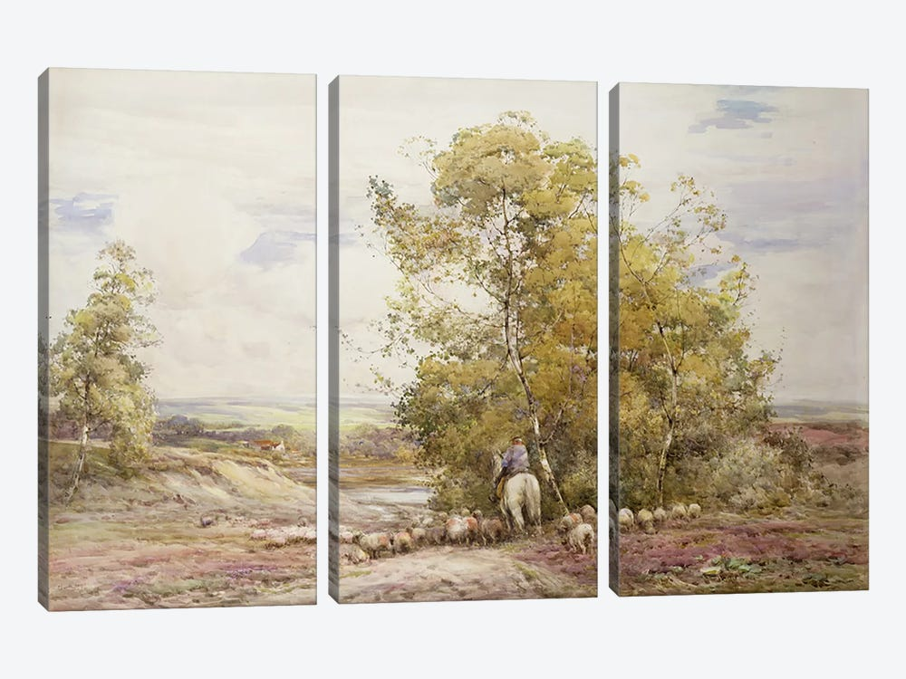 Dorset Pastoral  by Claude Hayes 3-piece Canvas Artwork