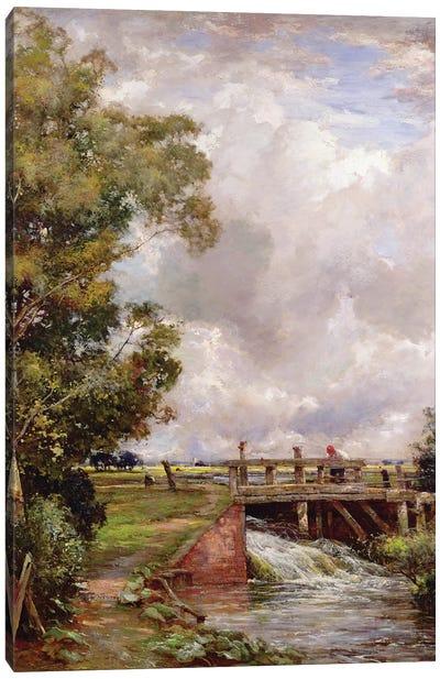 The Sluice  Canvas Art Print