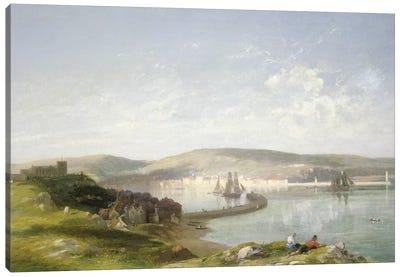 The Estuary, 1869  Canvas Art Print