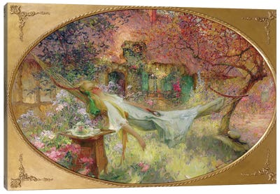 Summer in the Garden  Canvas Art Print