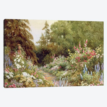 Herbaceous Border  Canvas Print #BMN3756} by Evelyn L. Engleheart Canvas Artwork