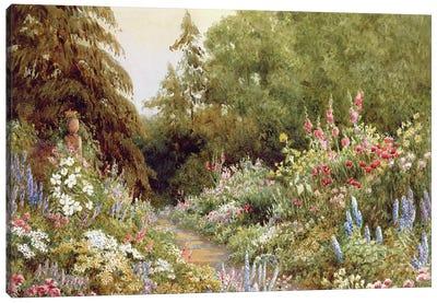 Herbaceous Border  Canvas Art Print