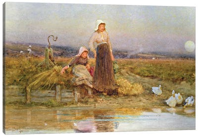 The Gleaners, 1896  Canvas Art Print