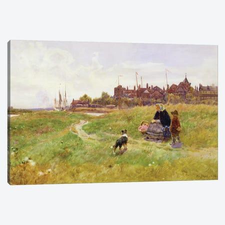 Hastings, 1894  Canvas Print #BMN3766} by Thomas James Lloyd Canvas Art Print